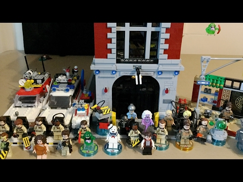 All Lego Ghostbusters sets Review