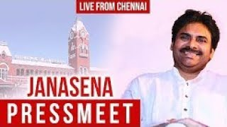 JanaSena Chief Pawan Kalyan Press Meet From Chennai