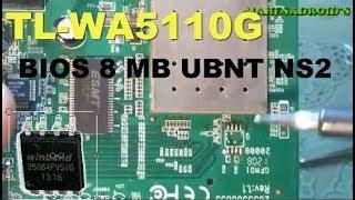 TL-WA5110G UPGRADE 8 MB MEMORI BIOS UBNT NS2