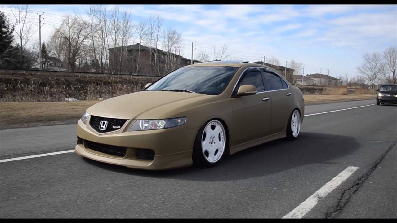 Lowlevel Easter Surprise X Acura Tsx Makeover X Stance