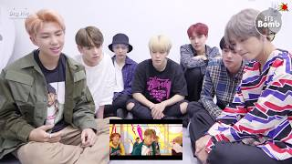 Bangtan Bomb Bts 39 Dna 39 Mv Real Reaction A6 00pm 170918 Bts 방탄소년단