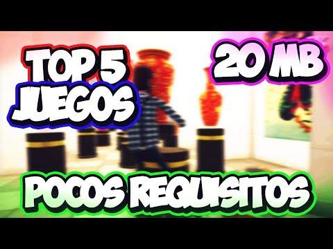 Top 5 // Juegos De Pocos Requisitos Del 2018 + LINKS (Menos De 20 MB)