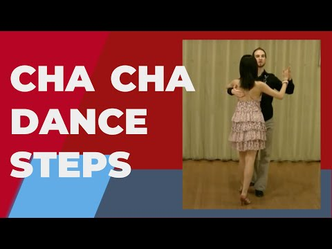 Cha Cha Dance Steps - The basic in place  (1 of 3 ChaCha basic steps)