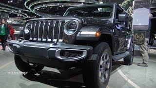 2018 Jeep Wrangler Sahara Unlimited - Exterior And Interior Walkaround - 2018 Toronto Auto Show
