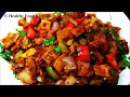 Chilli Chapathi Recipe in tamil/Chilli Chapati Recipe/Leftover roti/Easy Lunchbox Chapati Recipe