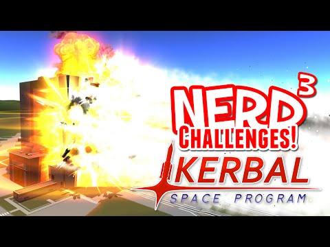 Nerd ³ Challenges! Building Bowling! - Kerbal Space Program
