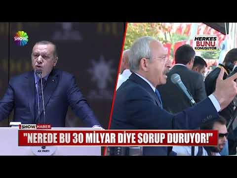 """Erdoğan: """"Nerede bu 30 milyar dolar diye sorup duruyor!"""""""