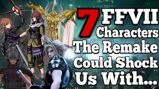 7 Final Fantasy VII Universe characters that could appear in the remake