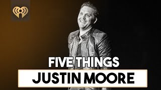 5 Things About Justin Moore 39 S 34 The Ones That Didn 39 T Make It Back Home 34 Five Things