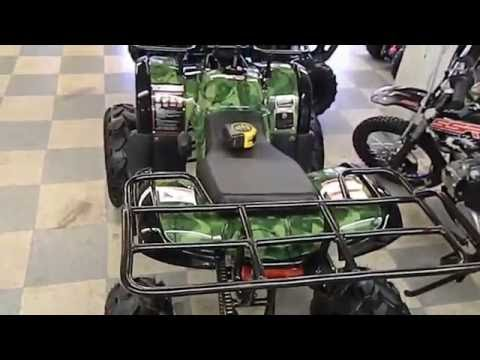 ATV - QUAD Coolster 125cc Utility Style ATV Demo and Review by HIGH STYLE MOTORING