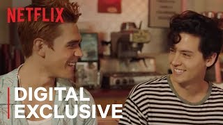 Riverdale | NZ vs US Slang with KJ and Cole | Netflix