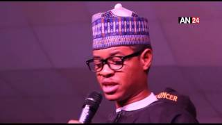 Watch President Buhari Look Alike Comedian Crack Up Guests At Laffmattazz