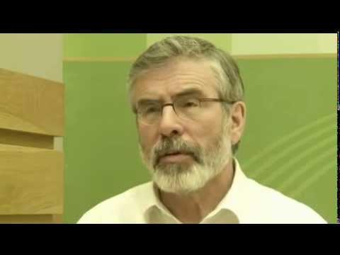 Gerry Adams articulates vision of United Ireland