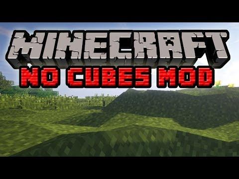 Minecraft Mody: No Cubes Mod Świat Bez Sześcianów Realistyczny Teren