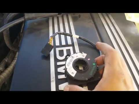 Bmw e46 325 330 Steering wheel angle sensor removal Part 1