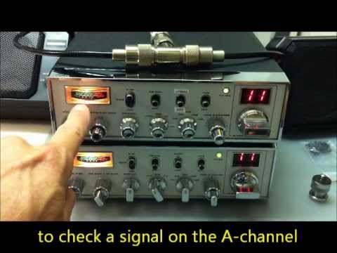 How to correct a lazy S-meter on a SUPER STAR 360FM (PB010AB)