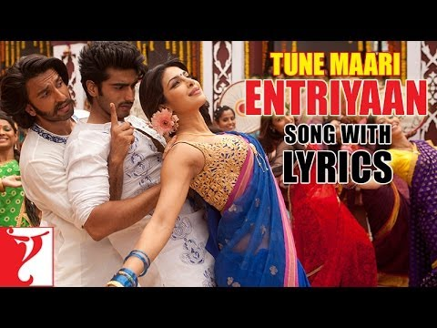 Tune Maari Entriyaan - Song with Lyrics - Gunday