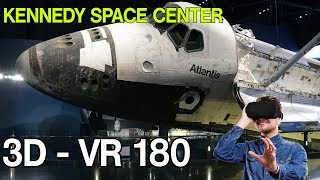 3D - VR 180 (5K) -: Kennedy Space Center / Space Shuttle Atlantis