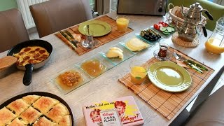 Petit déjeuner Turc - Turkish Breakfast | Muslim Queens by Mona