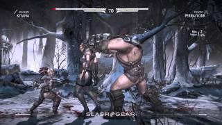 Kitana vs Ferra & Torr : Mortal Kombat X