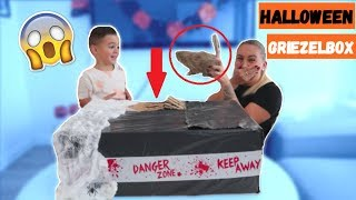 WHAT'S IN THE GRIEZELBOX (HALLOWEEN SPECIAL) | LAKAP JUNIOR |