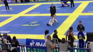 Luta Gui Semi final Sul Americano IBJJF