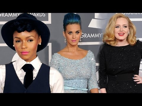 2013 Grammy Awards Style Stars Preview - Janelle Monae, Katy Perry & Adele