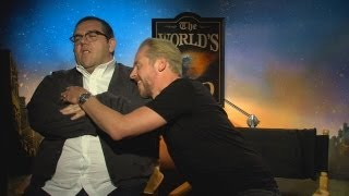 Simon Pegg and Nick Frost Interview: The World
