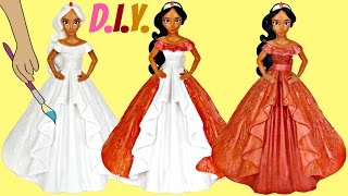 Disney Princess ELENA OF AVALOR Do It Yourself Paint Your Own Coin Bank