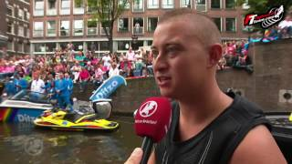 Flyboard World Record Canal Parade 2016