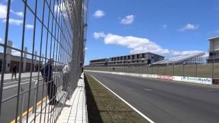 Vince & Hyde CB1100F lying 3rd at Hampton Downs New Zealand