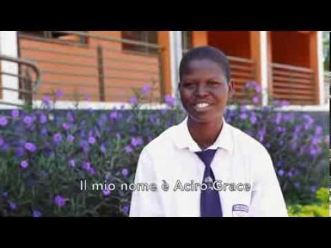 AVSI UGANDA UN NUOVO FIORE: STUDENTI E DIRETTRICE