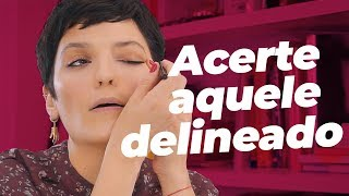 COMO ACERTAR O DELINEADO por Vanessa Rozan #MaquiaeFala t02Ep04