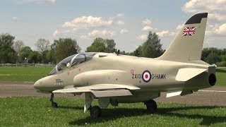 XXXL RC TURBINE JET BAE HAWK BRITISH AEROSPACE WITH SMOKE