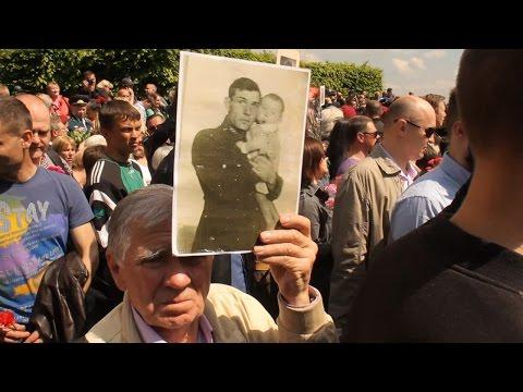 Бессмертный полк. Киев. 9 мая 2016. Без комментариев...