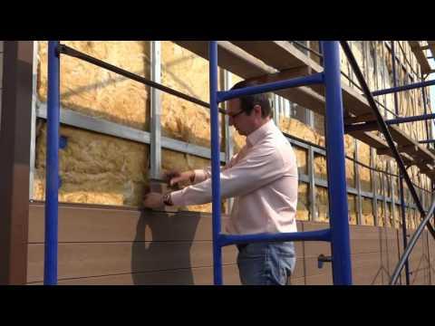 Монтаж фасадной доски из дпк своими руками