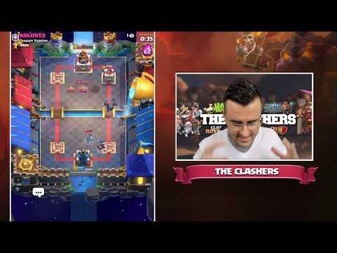 Clash Royale - Търся Executioner с Mega Knight Deck!