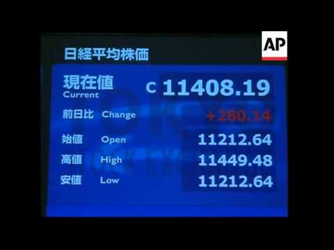 Nikkei in largest single-day gain this year