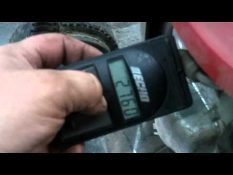 VIDEO REQUEST FOR  BONFIELD2002  how to set engine rpm's using an inductance style tachometer