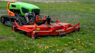 Green Climber Slope Mowers: All Models & Attachments