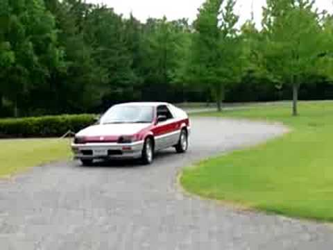 Hall Acura on Honda Collection Hall                  Ballade Sports Cr X