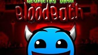 Geometry dash - If Bloodbath was L1 by Pwner135 (Parody on Riot)
