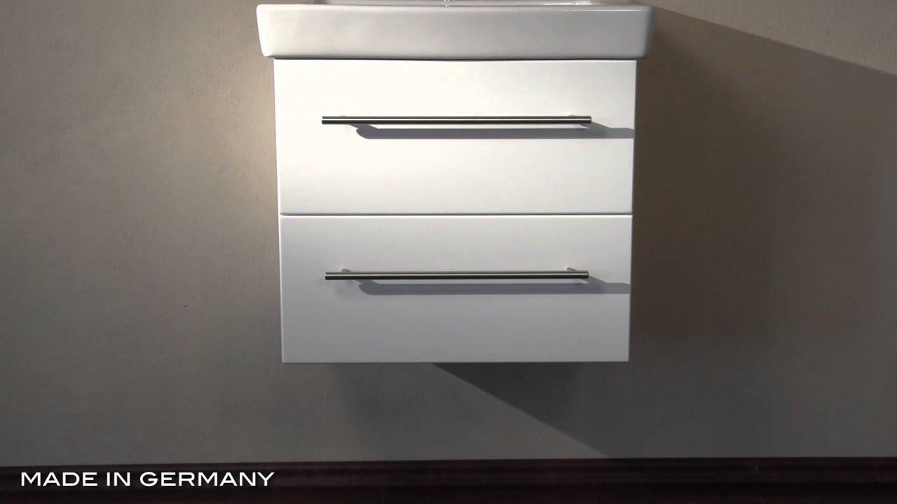 badm bel villeroy und boch subway 2 0 55 cm weiss hochglanz youtube. Black Bedroom Furniture Sets. Home Design Ideas