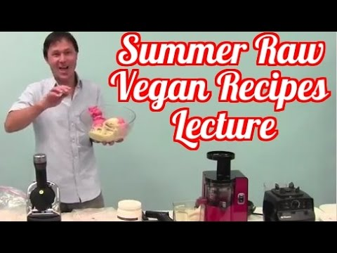 Summer Raw Vegan Recipes to Stay Cool in the Heat