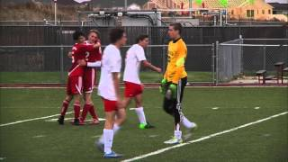 Liberty vs Coronado boys soccer post game wrap and highlights