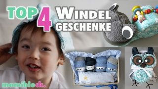 TOP 4 Windelgeschenke | Windeltorten | How To | mamiblock