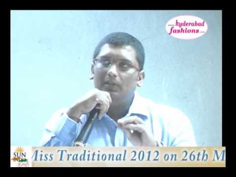 Miss Traditional 2012 Speech Video 4 video