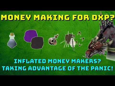 Money Making Methods Using The DXP Weekend! [Runescape 3] Major Money!