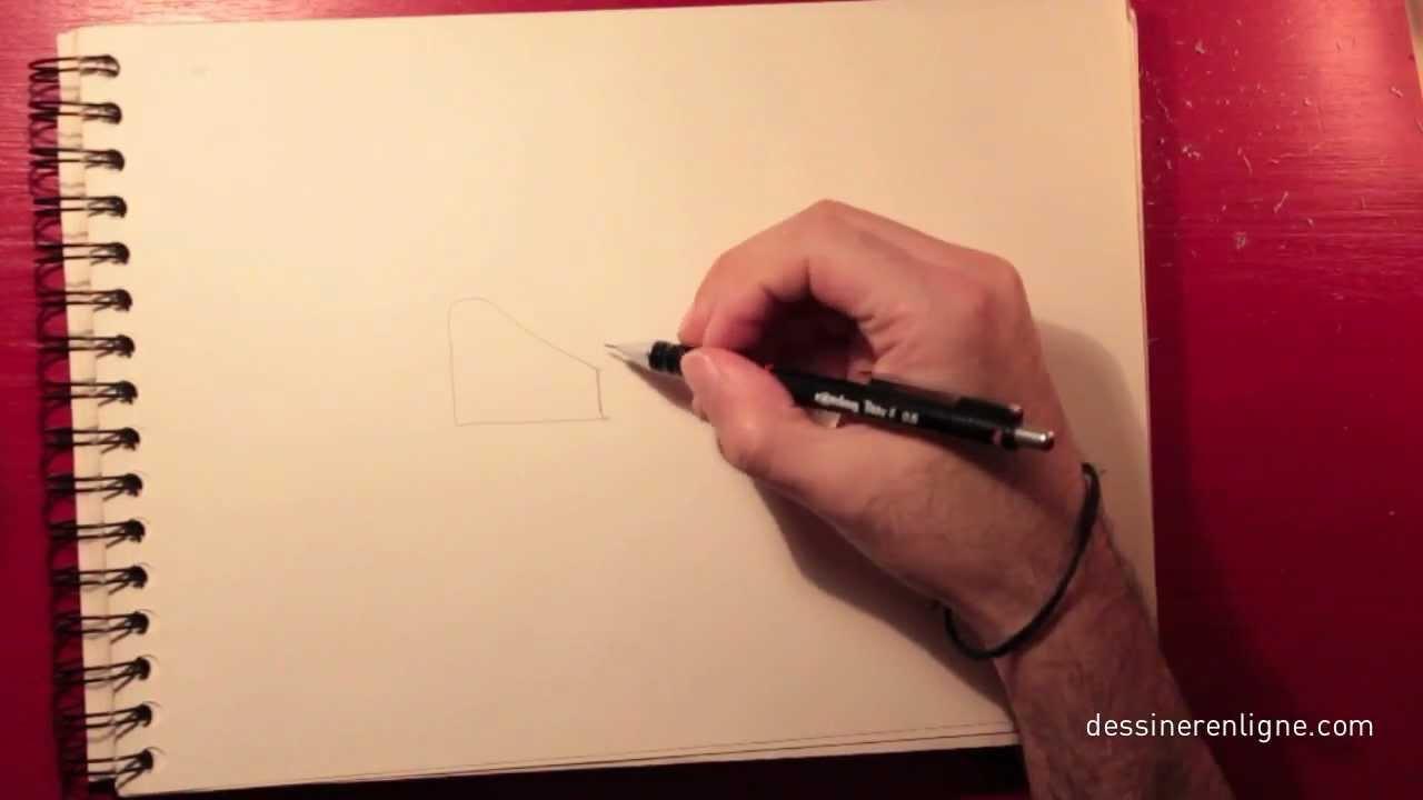 comment dessiner violetta étape par étape