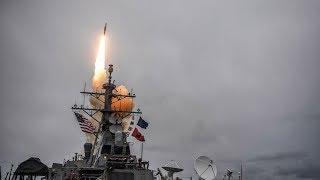 [toàn cảnh] Cuộc tấn công đầu tiên của liên quân Mỹ, Anh, Pháp vào Syria